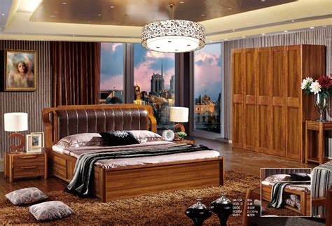 2015 China Modern Wooden Bedroom Furniture Popular Bedroom Set 9a10 In Wood Furniture