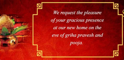 housewarming invitation india griha pravesh invitation indian house warming ceremony