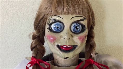 the conjuring 2 annabelle doll the conjuring annabelle prop doll review pt 2