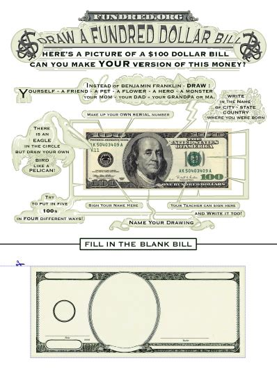 Printable 100 Dollar Bill