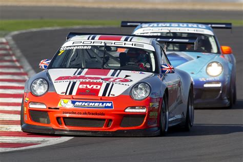 porsche contact porsche cup gb dean stoneman leading