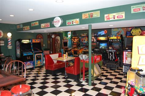 Dining Room Table Bases Metal by Mike S Game Room Retro Diner Booth 187 Bars Amp Booths