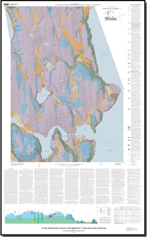 seattle geologic map geologic map of northeastern seattle part of the seattle