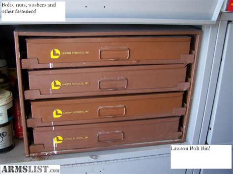 Bolt Drawers by Armslist For Sale Trade Lawson Bolt Bin Slide Out