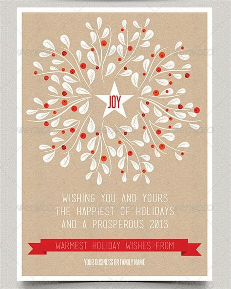 printable christmas cards word holiday greeting card template theveliger