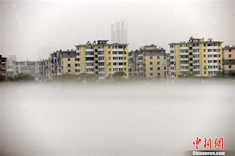 Hd 333 Dt 松花江畔现雾海奇观 两岸建筑笼罩在雾海之中 高清组图 大陆资讯 倍可亲