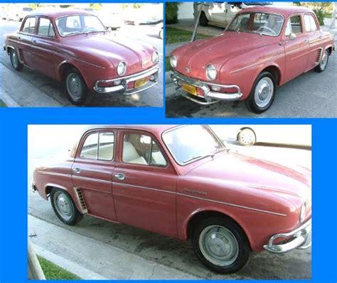 1959 renault dauphine just a car 1959 renault dauphine
