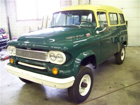 Dodge Town Wagon For Sale 1960 Dodge Power Wagon Town Wagon Bent Metal Customs