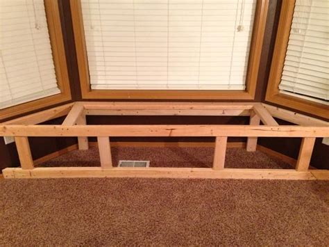 bay window bench seat how to make a bay window bench seat with storage recipe