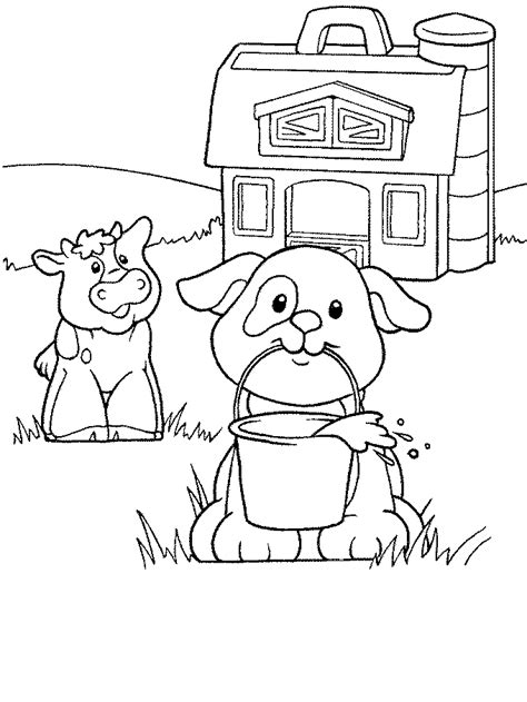 kids n fun com coloring page little people little people
