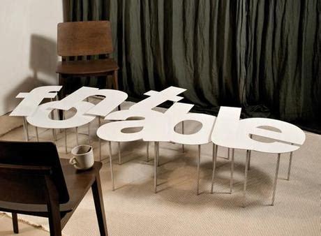 tavoli stravaganti fontable i tavoli di mamadesignlab evasi dallo schermo