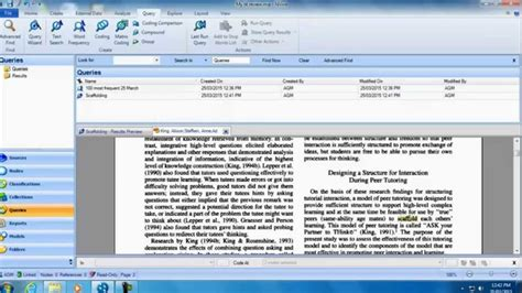 online tutorial literature search nvivo for your literature review online tutorial youtube