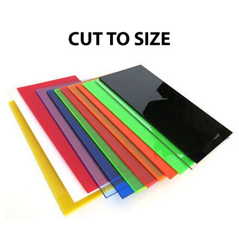 transparent colored plastic sheets cut to size color acrylic sheet cast acme plastics inc