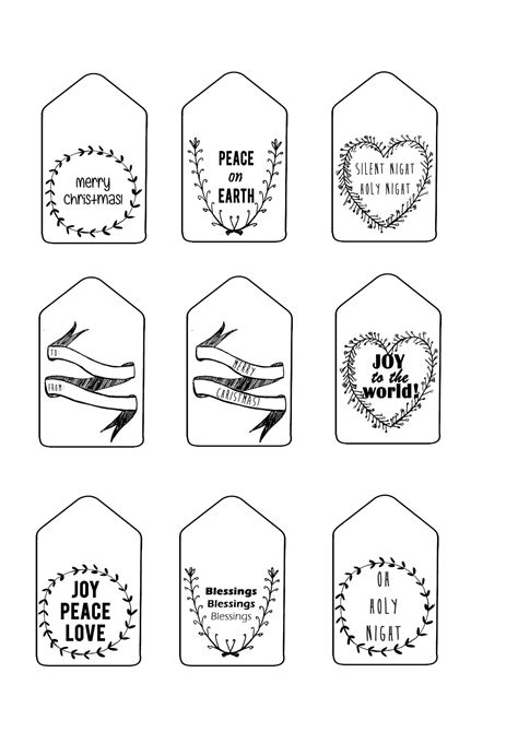 sew   printable christmas gift tags english afrikaans