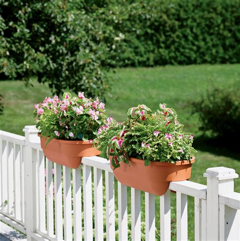 diy deck railing planter box home design ideas