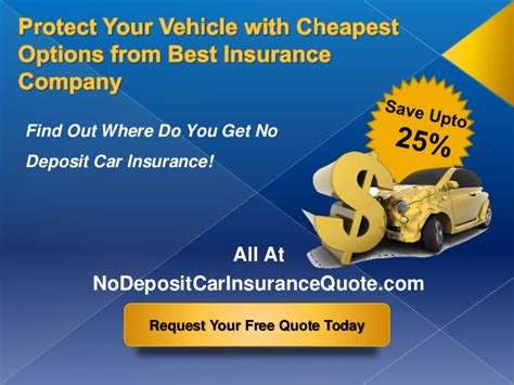 Compare Auto Insurance Companies by Car Insurance Companies With No Deposit Best Auto