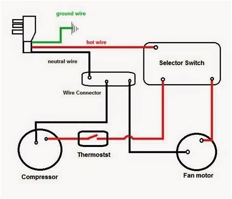 car air compressor wiring diagram ac compressor diagram