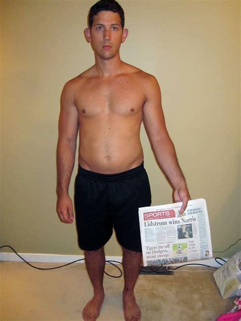 average male body body transformation reid s triumphant return to the gym