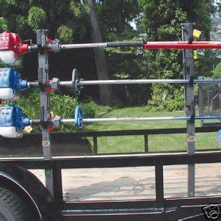 landscape trailer racks ra 5 trimmer rack weedeater enclosed landscape trailer parts