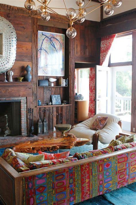 hippie wohnzimmer 1001 d 233 co uniques pour cr 233 er une chambre hippie