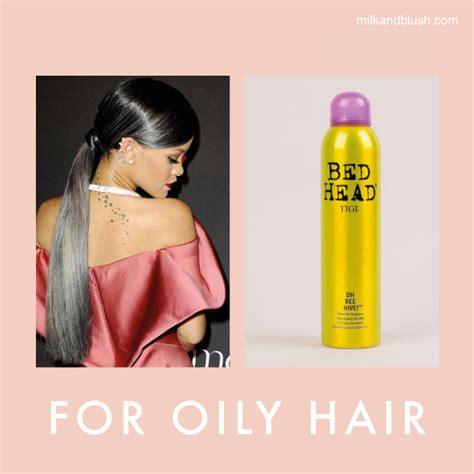 a quick fix for oily hair dry clean it one good thing quick hair fixes hair extensions blog hair tutorials