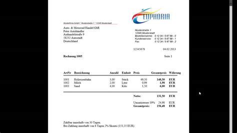 Rechnung F R Kleinunternehmer Schreiben rechnungsprogramm software zum rechnungen schreiben pdf