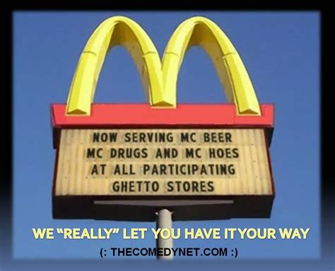 Kevin Federlines New Ad Insults The Fast Food Industry by Quotes And Sayings Quotesgram
