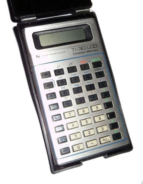 calculator history ti 30 lcd scientific calculator computing history