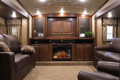 5th wheel with living room in front front living room fifth wheel toy hauler oh my husband