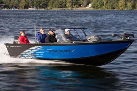fish and ski aluminium boat starcraft ski and fish boats for sale boats