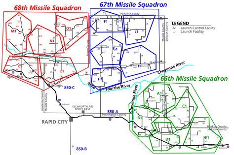 map us missile silos maps minuteman missile national historic site u s