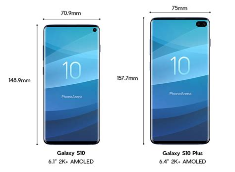 samsung galaxy s10 and s10 leak in here s a closer look phonearena