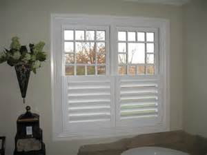 Unfinished Wood Shutters Interior Are These Inside Or Outside Mount If They Are Outside