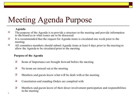 What Is The Purpose Of The Department Of Interior by Directors Meeting Agenda Images