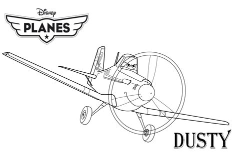 Dusty Coloring Page free coloring pages of dusty