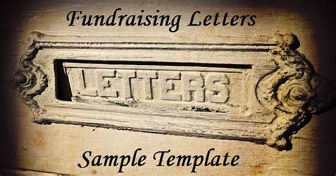 Fundraising Letter For A Sick Person letter sle fundraising letter and we on