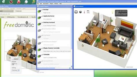 open source freedomotic home automation software updated