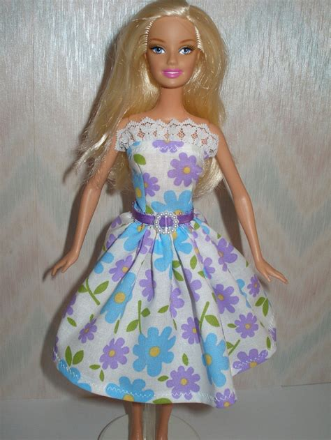 Handmade Doll Clothes - handmade doll clothes floral by thedesigningrose