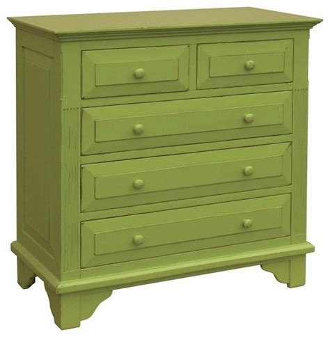 Bedroom Dressers And Chests New Chest Of Drawers Green Bachelor Painted Traditional Dressers By Euroluxhome