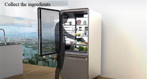 pin by ashley waldron on future home ideas pinterest smart fridge is your new recipe card yanko design