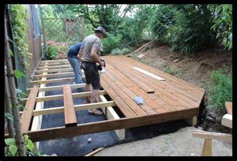 Construire Terrasse En Bois Soi M Me 3337 by Comment Faire Soi M Me Sa Terrasse En Bois Jason Putorti