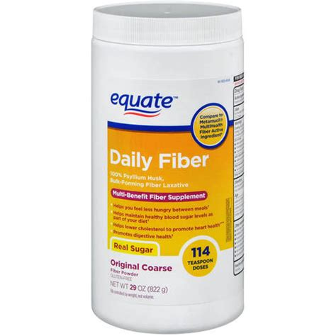 4d supplement equate fiber therapy unflavored fiber laxative fiber