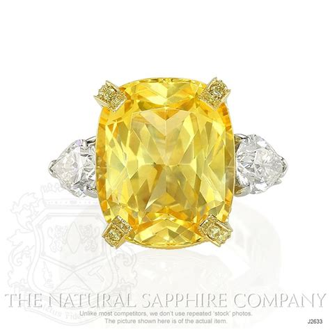 17 61 Karat Yellow Saphire best 25 yellow sapphire rings ideas only on