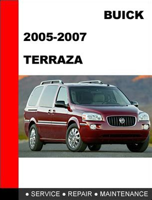 service manual 2007 buick terraza repair manual free download buick repair manual