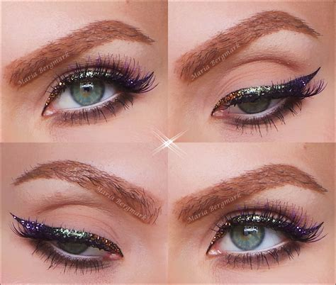 with eyeliner decay heavy metal glitter eyeliner bergmark
