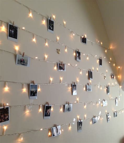 how to hang polaroid lights lights and polaroids future room lights and room