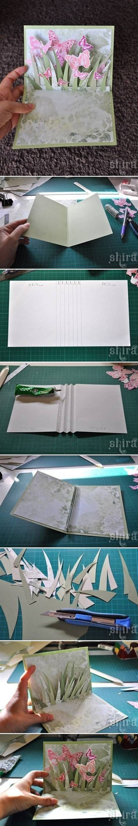 how to make a pop out card how to make a pop out butterfly card pictures photos and