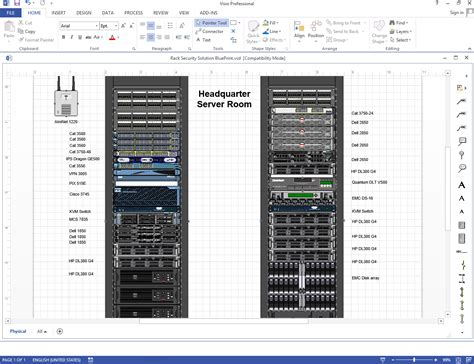 server rack visio stencil 6 best images of visio rack diagram template server rack