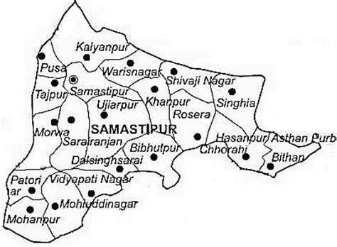 pusa road map samastipur district samastipur district map