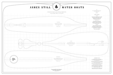 canoe paddle templates feedback requested